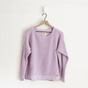 Hollister Lilac Sweater